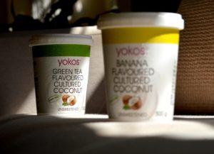 Yogurt vegano