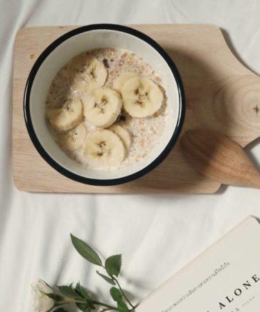 Porridge di riso integrale con la slowcooker